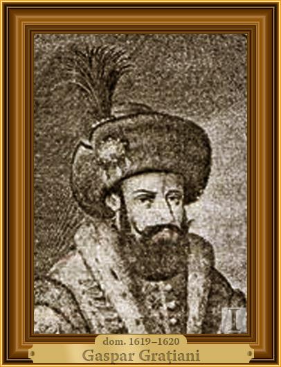 Gaspar Graţiani, domn al Moldovei
