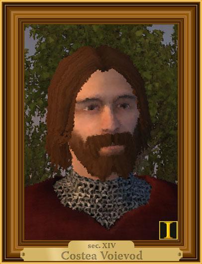 Costea Voievod, portret imaginar
