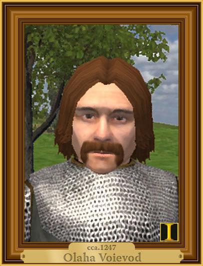 Olaha Voievod, portret imaginar